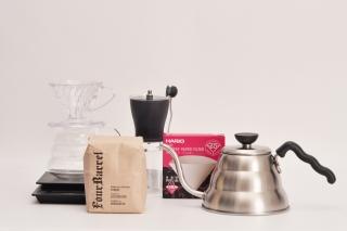 【コーヒー豆と道具一式】超本格的なコーヒーライフをまるごと贈ろう!|商品画像