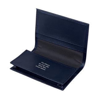 レザーカードケース ネイビー|商品画像