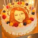 笑顔ケーキ【6号18㎝・6人~7人分】
