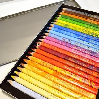 コヒノール 太軸マーブル色鉛筆23色+1セット|商品画像