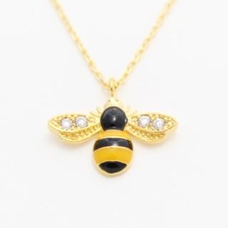 ミツバチモチーフネックレス|商品画像