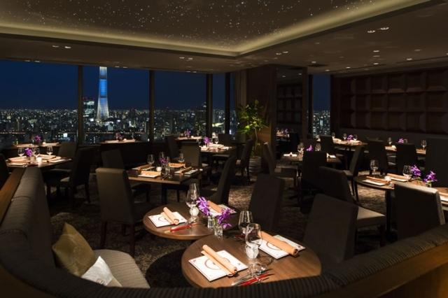 【東京】THE DININGシノワ唐紅花&鉄板フレンチ蒔絵 ペアディナー(浅草ビューホテル27階) JTBギフトトラベル|商品画像