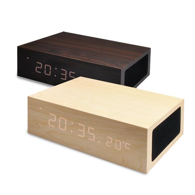 Bluetooth ALARM CLOCK SPEAKER BOX / アラームクロックスピーカーボックス|商品画像