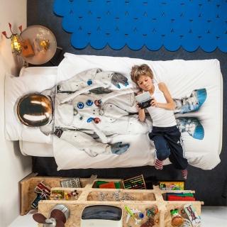 【SNURK/スヌーク】DUVET COVERS ベッドカバー・枕カバー(シングル)|商品画像