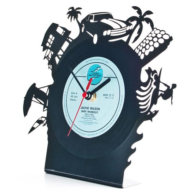 【Re Vinyl/リヴァイナル】アナログレコード 置き時計 Pavel Sidorenko/パヴェル シドレンコ|商品写真