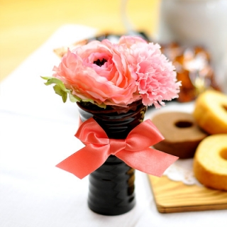 フラワー&バウムクーヘンのギフト(HAPPY BIRTHDAYカード付き) 商品写真サムネイル
