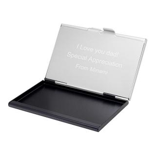 デュアルカードケース [名入れ]|商品画像