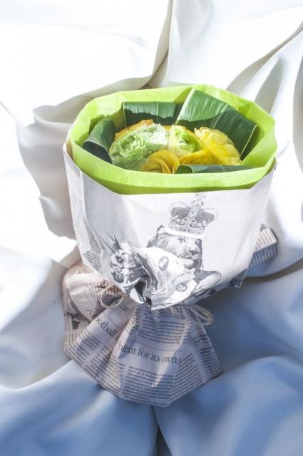 フラワードロップ オリジナル ブーケ (ベリーミルクドロップ)|商品写真