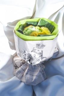 フラワードロップ オリジナル ブーケ (ベリーミルクドロップ)|商品写真サムネイル