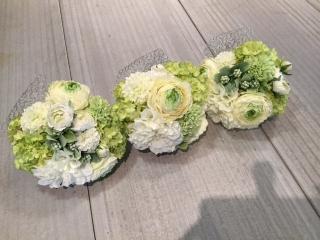 フラワードロップ造花ブーケ|商品画像