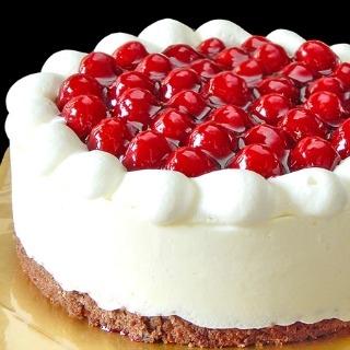 最高級洋菓子 シュス木苺レアチーズケーキ26cm プレートセット|商品画像