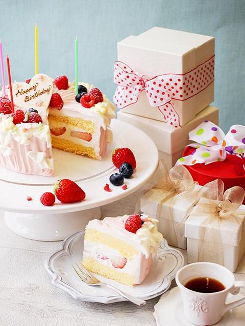 記憶に残る誕生日に添えたい可愛いケーキ|イメージ画像