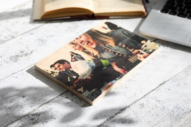 思い出の写真をエコなオリジナルウッドプリントに|商品写真