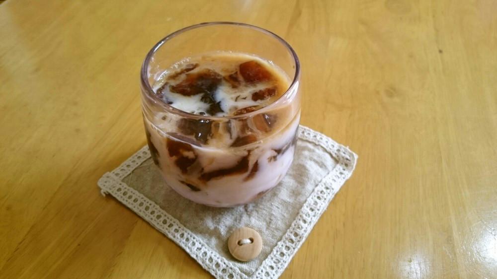 アーモンドミルクコーヒー