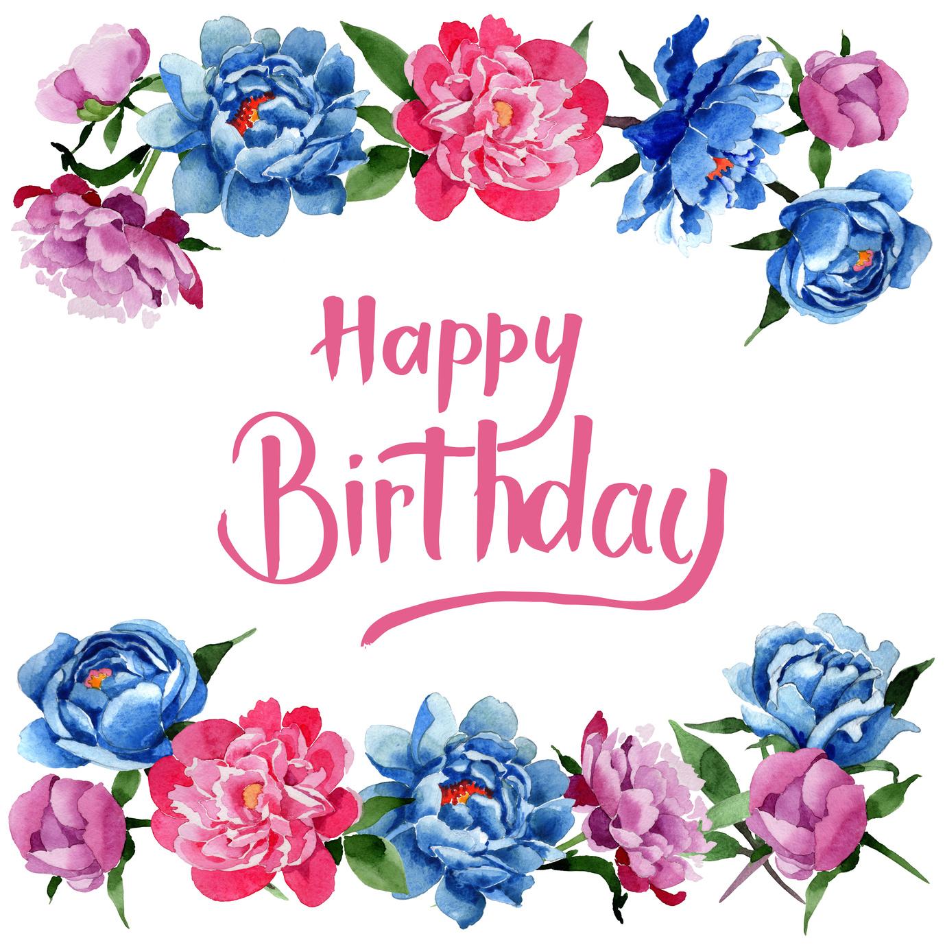 snsやメールの誕生日メッセージに添えたい、おしゃれな画像30選 #花