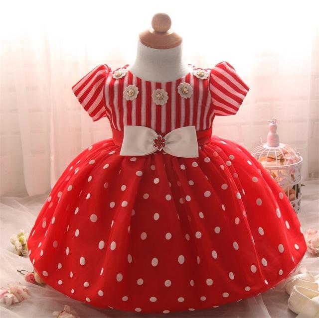 フラワーガール幼児ドレスクリスマス衣装の女の子プリンセスドレス1年誕生日子供パーティーのチュチュドレス赤ちゃんの女の子服.jpg_640x640