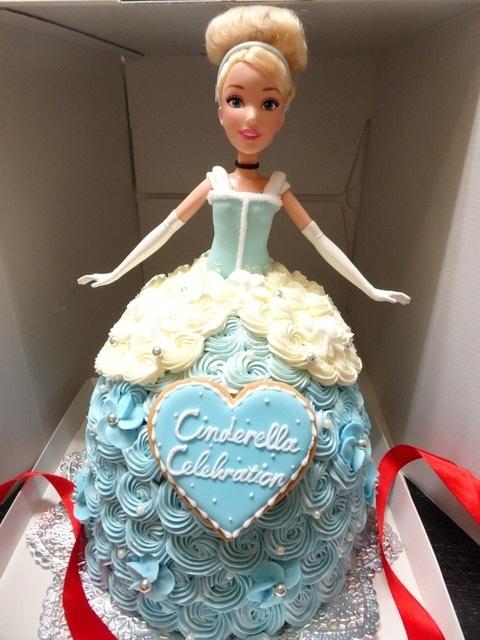シンデレラのドールケーキ