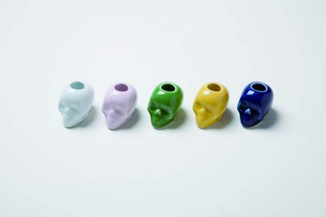 スカル歯ブラシスタンド 5種セット