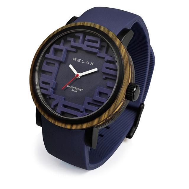藍染カラー腕時計