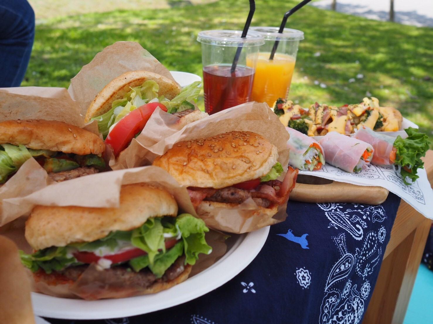 ハンバーガーピクニック
