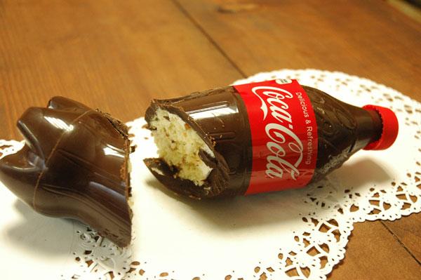 コーラ型ケーキ
