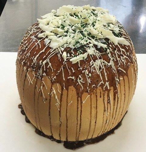 たこ焼き型ケーキ