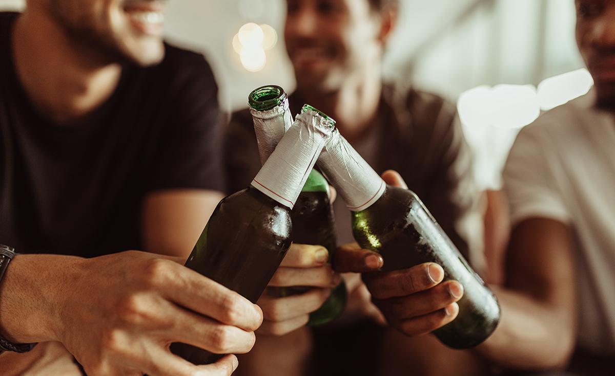 ビール好きの男性